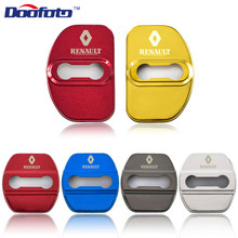 Badge-Accessories Megane Renault Emblems Door-Lock-Covers Doofoto Auto 2 Clio 3-Captur