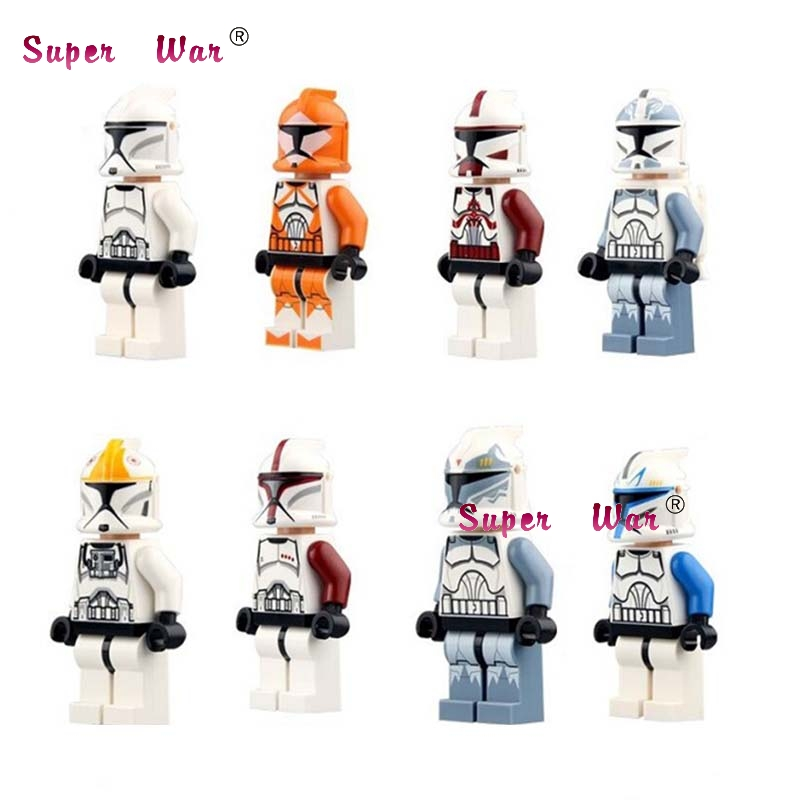 Single  The Force Awakens  Commander Fox Rex Building Blocks Models Bricks Toys For Children Kids
