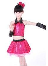 Children 's Latin Performance Dress Shirts Dresses Dance Wear Children' s Dance Performance Costumes