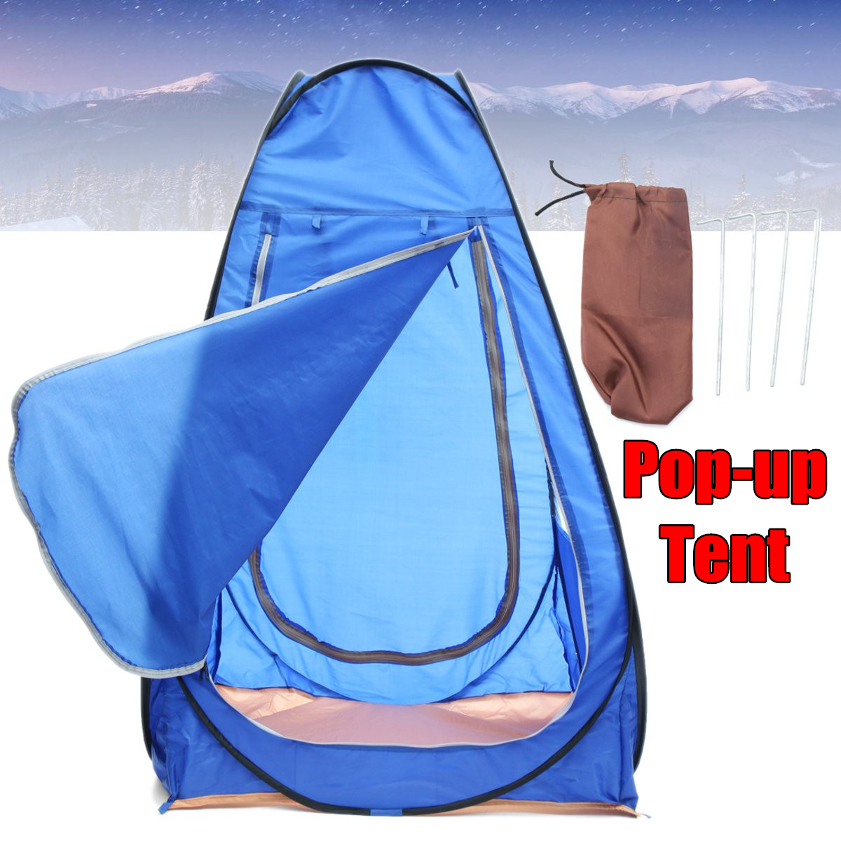 150*100*100 cm Tenda Pop-up Sport Pod Sotto Il Wather Guardare Visualizzazione Portatile di Sport Pop up
