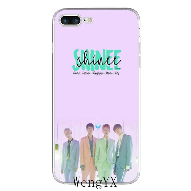 Jonghyun Key shinee kpop minho slim ซิลิโคนโทรศัพท์ TPU Soft สำหรับ Samsung Galaxy J1 J2 J3 J5 J7 A3 a5 A7 2015 2016 2017