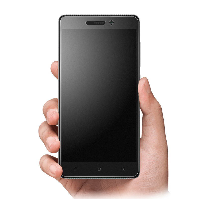 Top quality 0 26mm 9h hard HD MATTE Xiaomi Redmi 3 Tempered Glass Screen Protector front