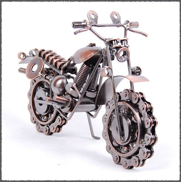 New arrival motorcycle model handicraft ornaments home for Motorcycle decorations home