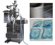 New Product Automatic Detergent Pods Water Soluble Sachet Packing Machine