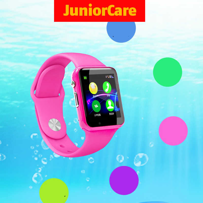 Kids Smart Watch Life Waterproof Fitness Watch Phone Call SIM Card Camera Bluetooth GPS for Children Wtach