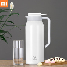 лучшая цена Xiaomi VIOMI 1.5 L home Kettle Stainless Steel Vacuum Flask Portable Bottle Cup Thermo 24h