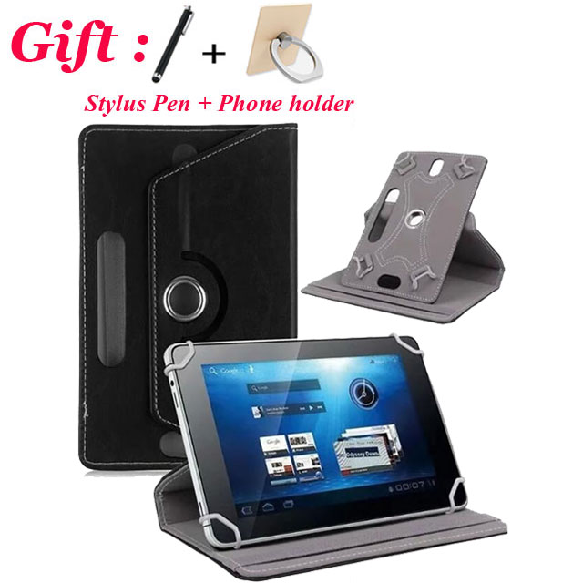 360 Degree Rotating Case For AllView Viva H10 LTE 10.1 inch Tablet Universal Cover Case WITH CAMERA HOLE Free Shipping +gift