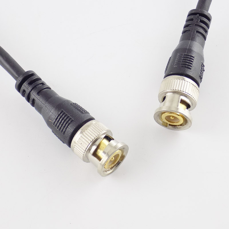 0 5M 1M 2M 3M BNC Male To Male Adapter Cable For CCTV Camera BNC Connector Cable Camera BNC Accessories in Transmission Cables from Security Protection