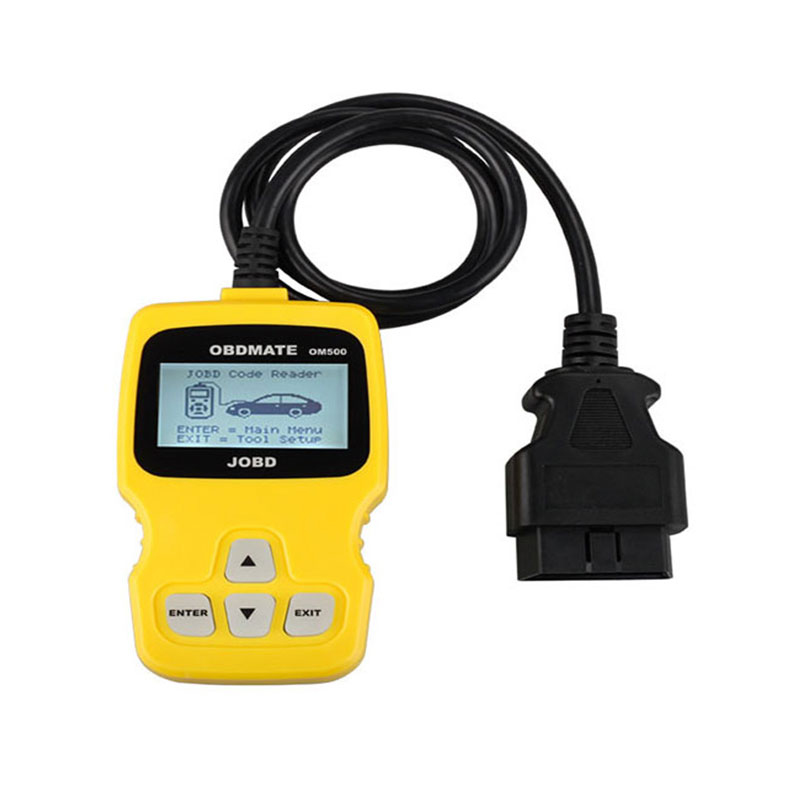 OM510 Professional Auto scan Original OBDMATE OM510 OBDII Car OBD2 16 Pin Diagnostic tool OM 510 Code reader free shipping vgate super scan tool vs600 code reader car diagnostic tool vag obd2 obdii eobd auto scanner automotive diagnostic tool