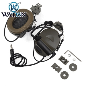 Image 5 - WADSN Comtac השני Softair אוזניות עם Peltor קסדת רכבת מתאם סט עבור מהיר קסדות צבאי Airsoft טקטי C2 אוזניות Z031