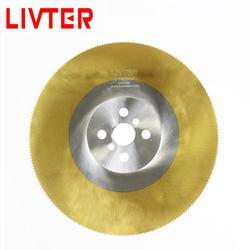 LIVTER HSS dics circulaire zaagbladen TIALN coating voor snijden rvs buizen hoge snelheid tarieven fabriek prijs groothandel