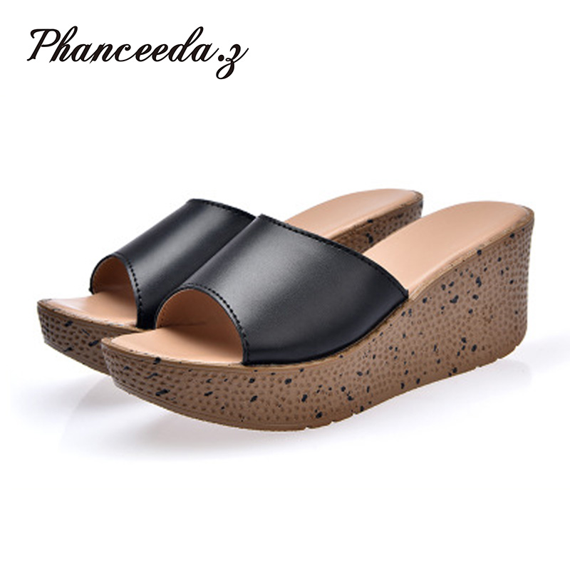 New 2017 Casual Shoes Women Sandals Sandalias Mujer Summer Style Fashion Flip Flops Good Quality Flats Solid Slippers Size 6-11 size 4 11 big size sandals women shoes black beading 2016 summer women flats shoes sandalias mujer check foot length
