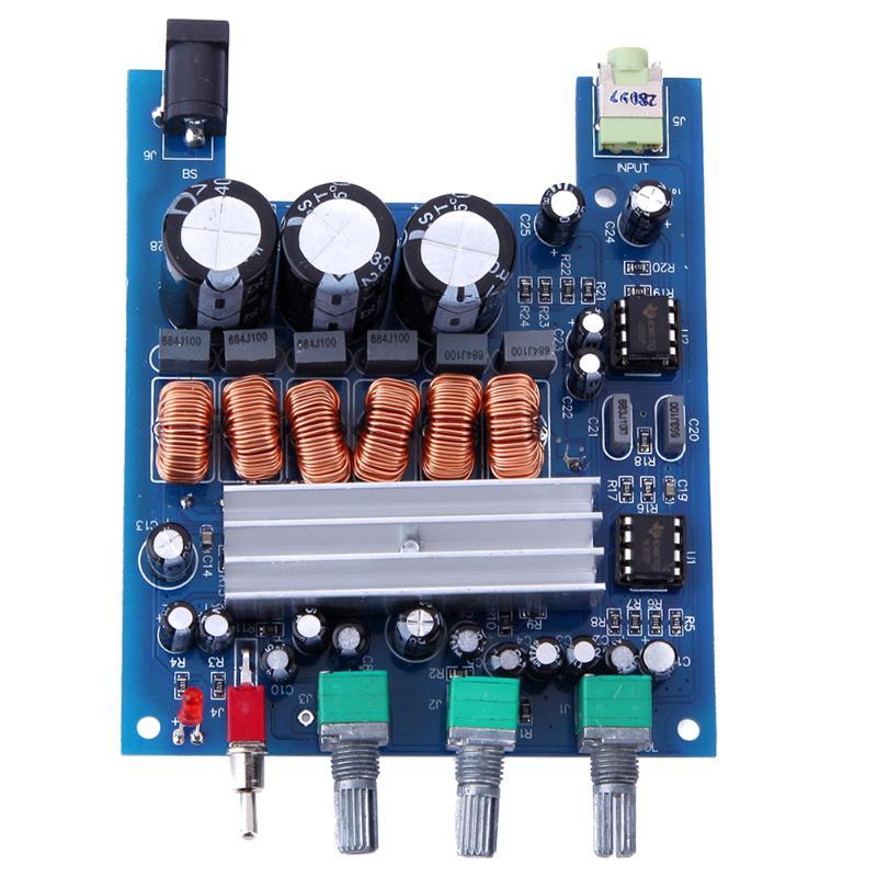 50WX2 + 100 W Numérique Subwoofer Amplificateur Verste Conseil TPA3116 D2 2.1 HIFI Haute Puissance Numérique Subwoofer Conseil Amplificateur Audio