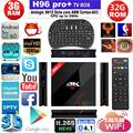 S912 H96 Pro plus Amlogic Octa Núcleo Android 6.0 Caixa de TV 3g/32g 2.4g/5 ghz bluetooth wi-fi lan 1000 m 4 k google play set top caixa