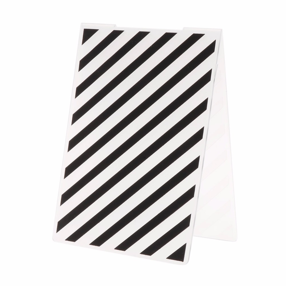 Plastic Embossing Folder Template for DIY Scrapbook Photo