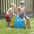 Funny 60CM  Inflatable Spray Water Ball Children Summer Outdoor Swimming Beach Pool Play The Lawn Balls Playing Water Spray Toys