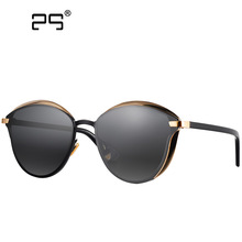 COLECAO Sunglasses Women Retro Round Women's Glasses 2017 Points New Superstar Fashion Coating Mirrored Lesens Eyewears DR-4