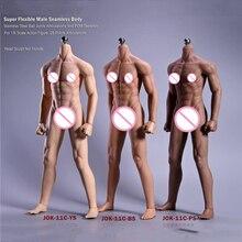 هيكل عظمي من الفولاذ المقاوم للصدأ جسم رجل غير ملحوم فائق المرونة مقاس 1/6 بوصة 12 بوصة جسم بشري مطاطي لرأس 1/6