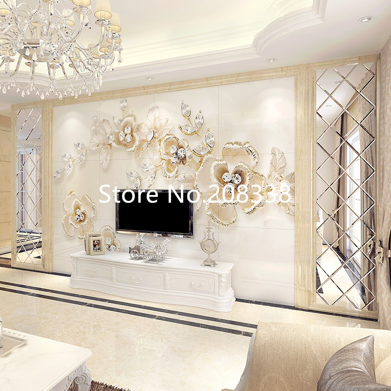 Beveled Mirror Tiles Ss M6 For Wall