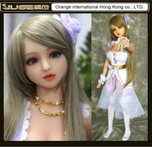2016 NEW HOT 136cm real anime face sex doll,japanese silicone sex doll for men,realistic solid not blow up loli love doll,ST-146