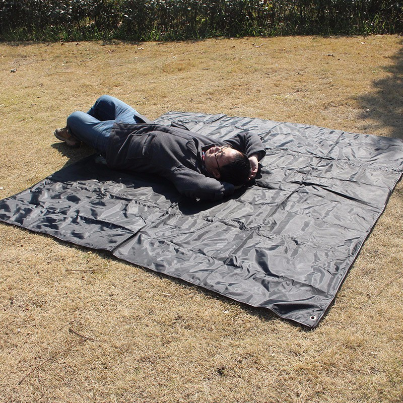 Large Waterproof Ultralight Beach Mat C&ing Folding Ground Blanket Tarp Tent Bed Sleeping Mattress Pad Picnic Tarpaulin DZ07-in C&ing Mat from Sports ... & Large Waterproof Ultralight Beach Mat Camping Folding Ground ...