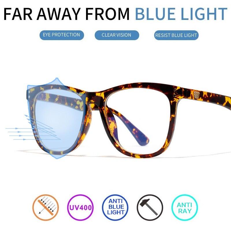Vazão Homens Óculos De Computador Mulheres Quadrado Transparente Anti Óculos  de Radiação de Raios de Luz 5b0fea03ce