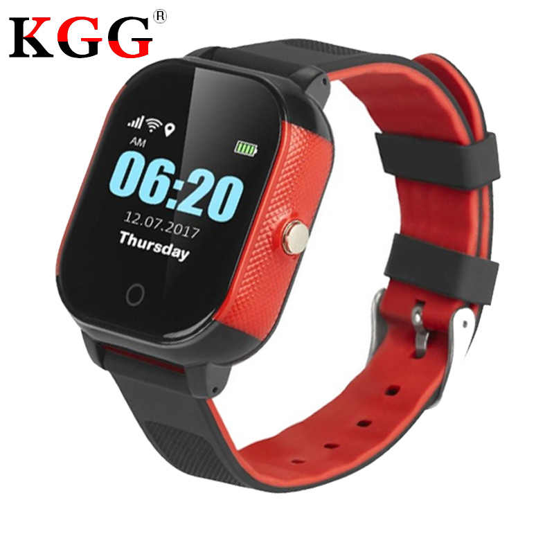 FA23 Children Smart Watch Baby SIM Card Touch Screen GPS WIFI SOS Tracker IP67 Waterproof Kids Alarm Clock Anti-Lost Smartwatch