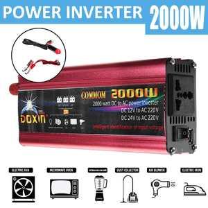USB 2000W DC 12V 24V To AC 220