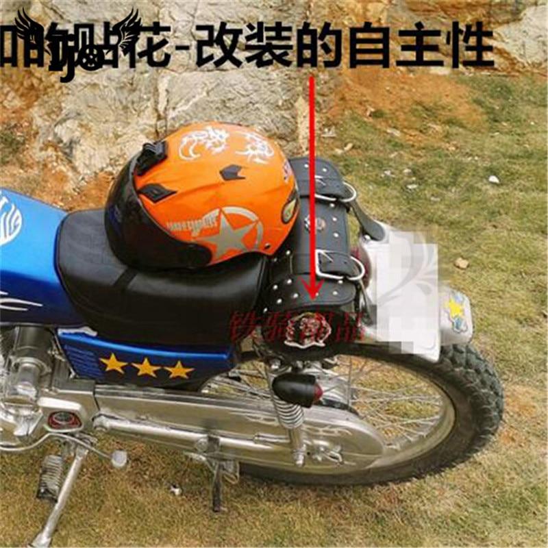 Couro PU Saco De Bagagem Para Harley