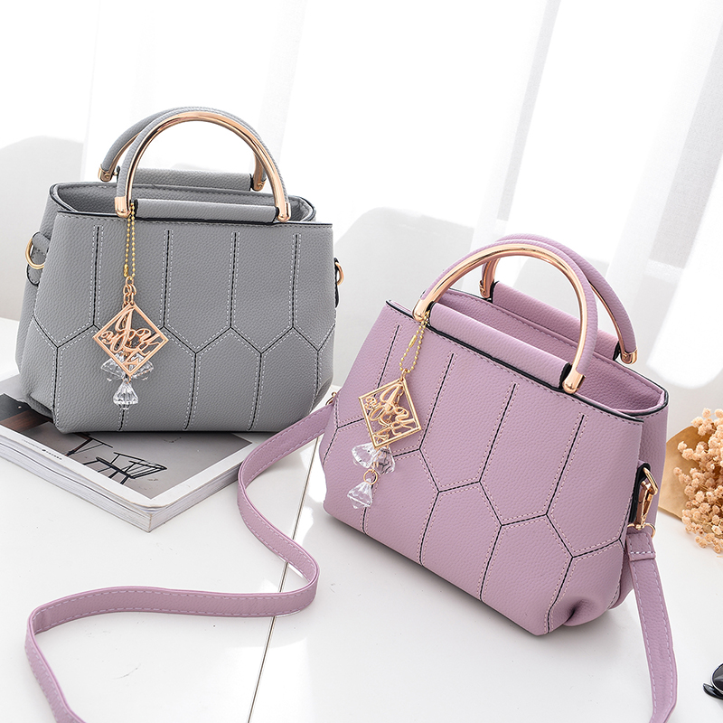 8dc0c74824fb3 Women messenger bags new spring/summer 2018 inclined shoulder bag women's  leather handbags Bag ladies hand bags MeiKaLu
