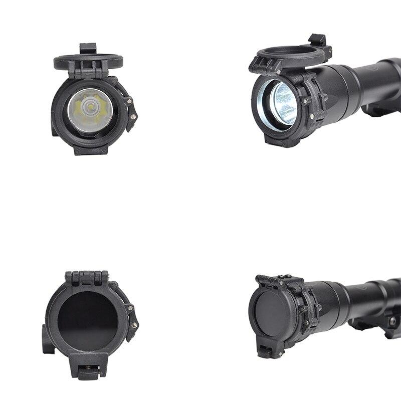 surefir m300 m600 arma luz filtro ir