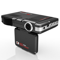 (With Russian voice ) 2.0 Car dvr 3 IN 1 Radar Detector STR8500 DVR GPS Logger HD 720P 140 Degree Angle Video Recorder