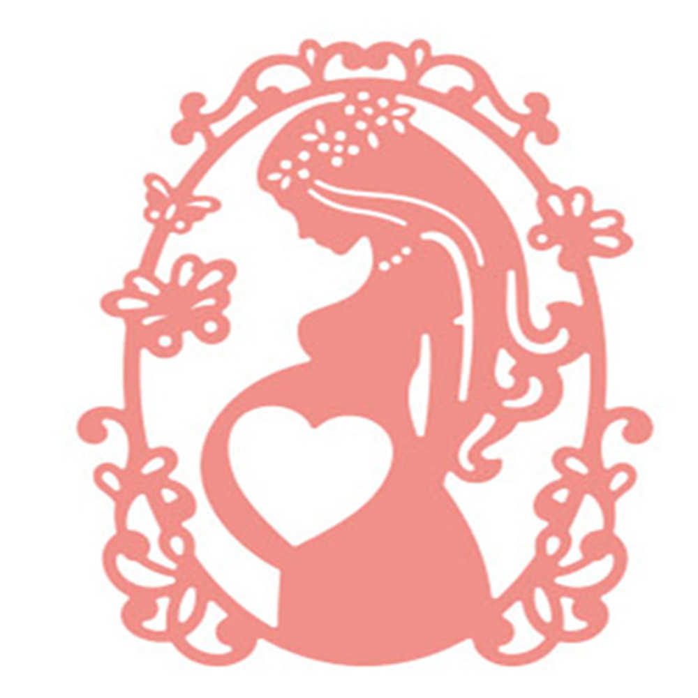 Metal Cutting Dies Mother Baby Pregnant Woman DIY Scrapbooking Crafts Die 2019 Embossing Paper Album Cards Decor Mother's Day