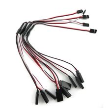 5pcs RC Servo Y cable de extensión Cable de alambre 300 mm para JR Futaba