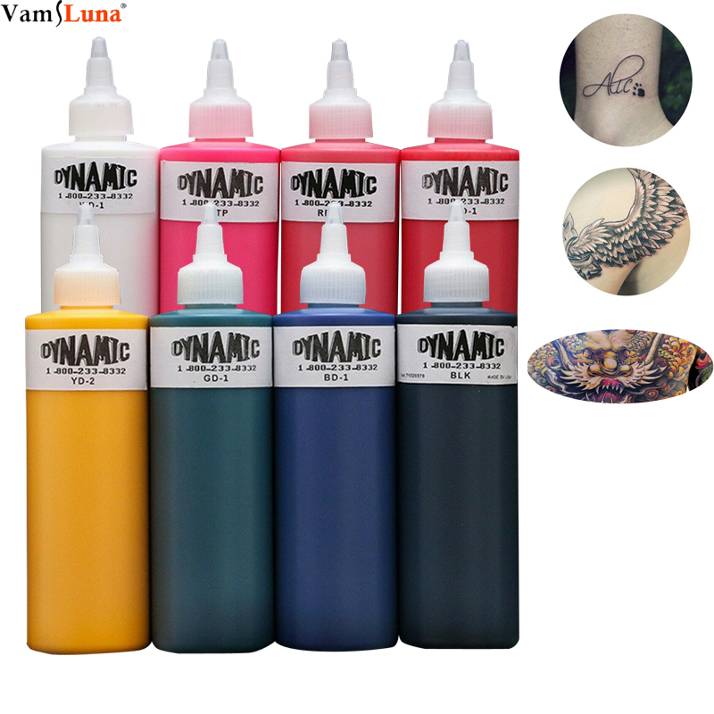 1 Bottle Tattoo Ink Kit 250ml 8oz 330g Pigment Kit For Lining And Shading Safe And Easy To Use, Long Duration, Pure Color