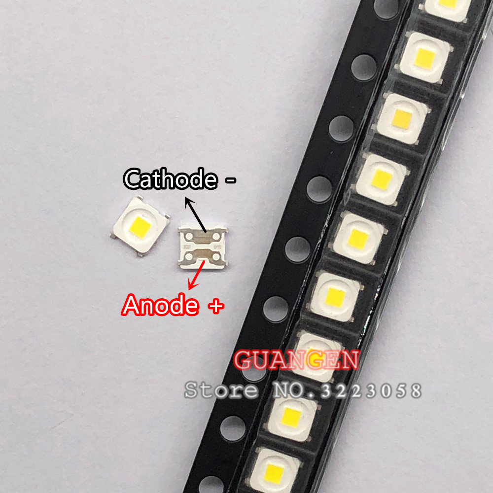 Back To Search Resultselectronic Components & Supplies Diodes 50pcs 2828 Led Backlight Tt321a 1.5w-3w With Zener 3v 3228 2828 Cool White Lcd Backlight For Tv Tv Application Sm
