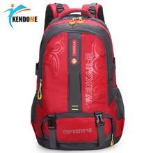 35L Waterproof Travel Hiking Backpack Sports Bag For Women Men Outdoor Camping Climbing Bag Mountaineering Nylon Rucksack