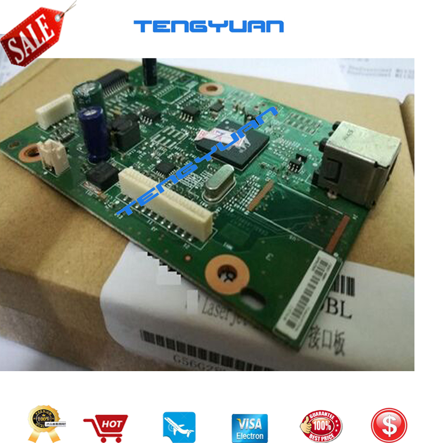Free shipping 95% new original CE831-60001 for HP LaserJet Pro M1130 M1132 M1136 Formatter Board Printer parts on sale gzlspart for hp 1136 original used formatter board parts on sale