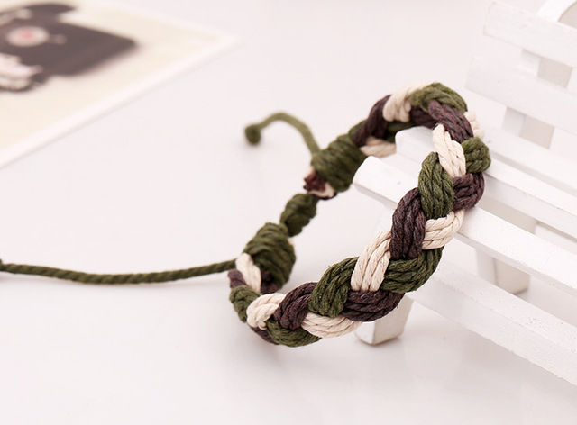Army Style Hemp Rope Braided