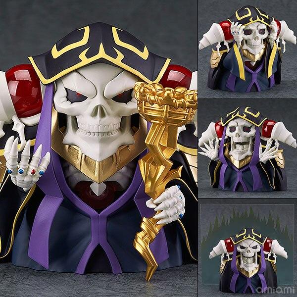 Anime Overlord Ainz OOal Robe Nendoroid 631 Mignon Kawaii Super Hero 10 cm Action Figure Jouets