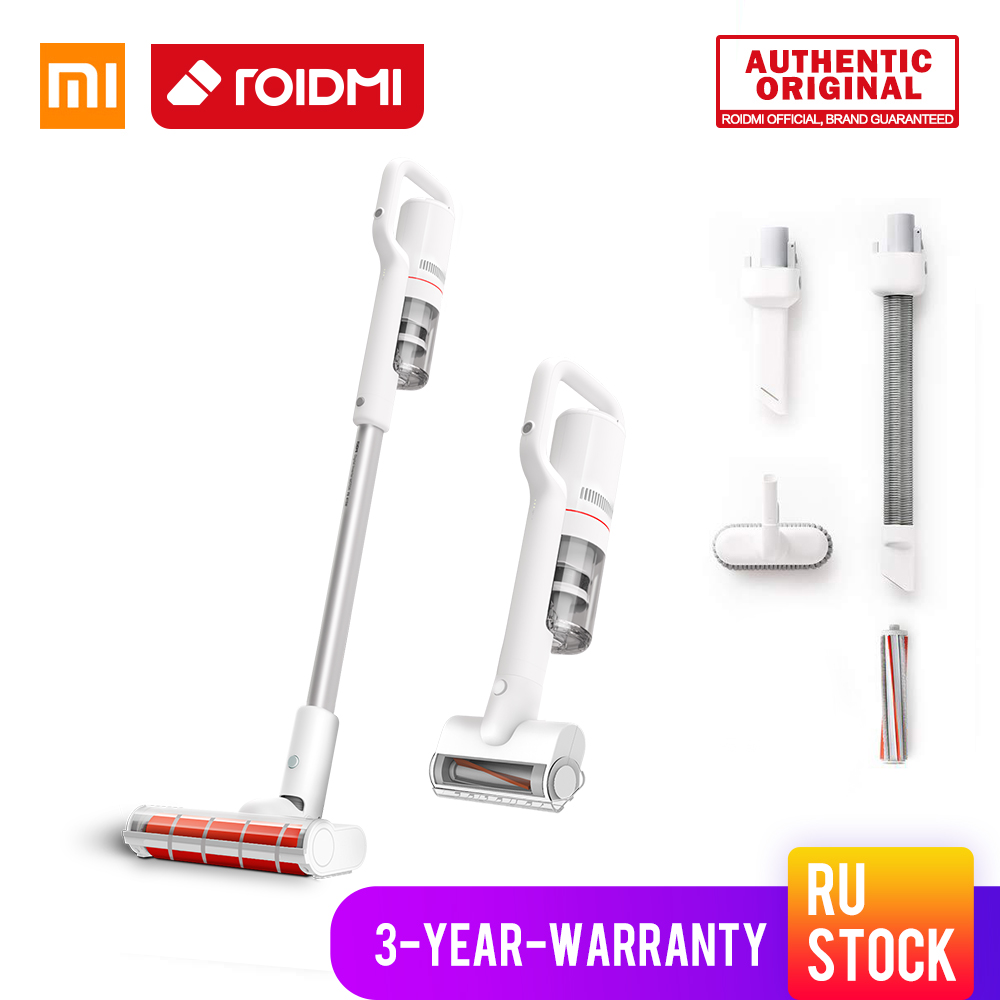 ORIGINAL XiaoMi ROIDMI Wireless Vacuum Cleaner New f8 Storm Handheld Cleaner Vacuum 6 in 1
