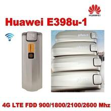 Лот из 10 шт. huawei E398 E398u-1 мобильного широкополосного доступа интерфейсом USB Dongle LTE 4 г 100 Мбит разблокирована