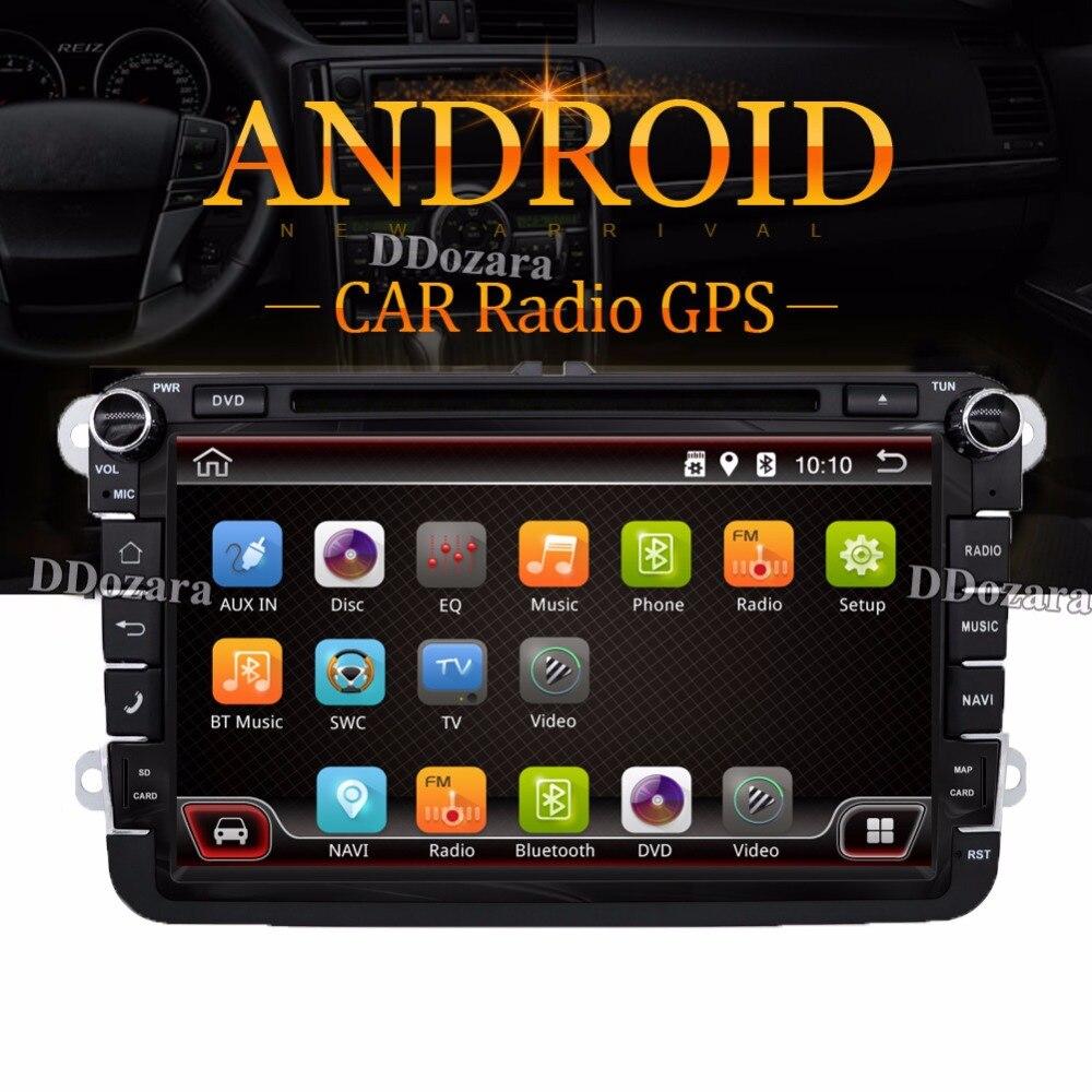 Mk5 mk6 golf gti 2016 car golf mk5 radio golf mk5 mk6 car stereo dvd - Android 6 0 2 Din Car Dvd For Vw Jetta Golf Mk5 Mk6 Gti Passat B6 Polo