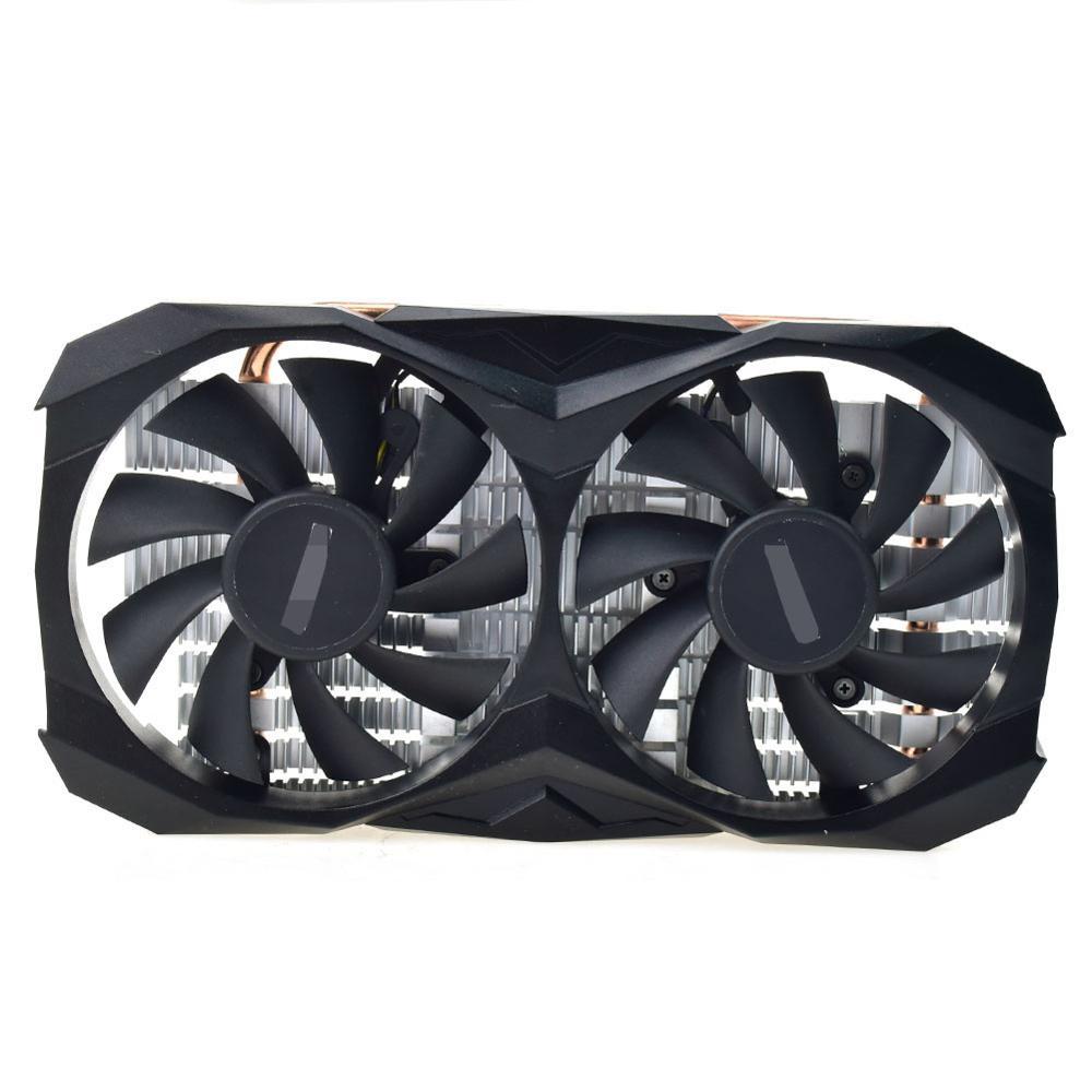 For ZOTAC GeForce GTX 1050 1050TI 2GD5 4GD5 TSI PA Graphics Radiator Fan Set Cooling Fan