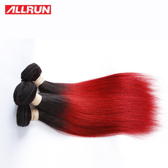 Cor Do Cabelo Brasileiro 10 pçs/lote 8A Grau Virgem Não Processado Por Atacado Do Cabelo Humano Feixes de Cabelo Vermelho Cabelo Brasileiro Mink