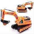 Juguetes de los niños con un cinturón de ingeniería Modelo de coche diecast excavadora regalo de Plástico para niños brinquedos de Montaje de Camiones Recomendar