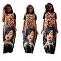 2017 Vestidos Vestidos de Traje Africana Headtie Africano Africano Ropa Spandex Nuevo Estilo de Ropa de Venta Directa