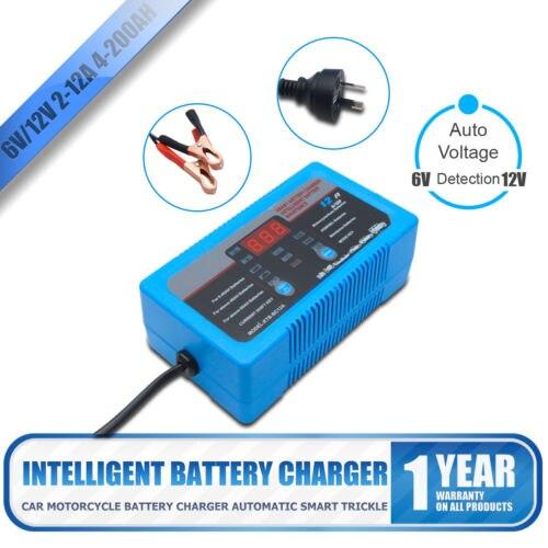 MASO 6 V 12 V chargeur de batterie 7 étape 12A 8A 2A AGM GEL SLA pour voiture moto nouveau