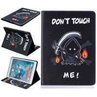 Death Pattern Case For Apple IPad Pro 9 7 Case Cover Cute PU Leather Case Tablet