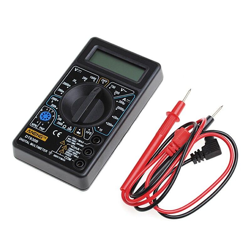 DT 830B Multimeter LCD Auto Range Digital Voltmeter Ohmmeter Volt Tester New Y103